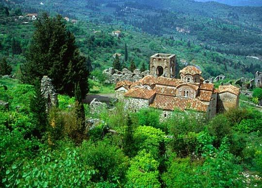 Mystra, Peloponnece Greece