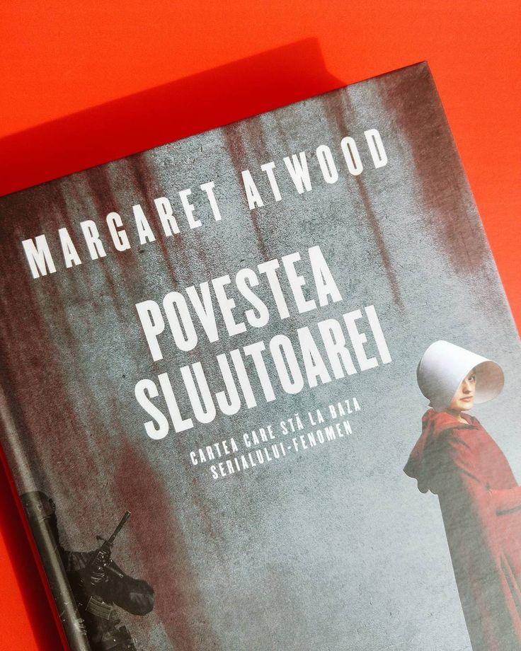 """Una dintre cele mai sumbre și mai răscolitoare distopii. Noua și frumoasa ediție din """"Povestea slujitoarei"""" e disponibilă acum pe Cartepedia.ro."""
