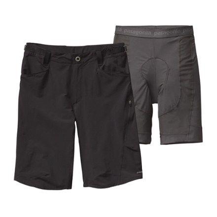 "Patagonia Men's Dirt Craft Bike Shorts 11.5"" Inseam Black XL"
