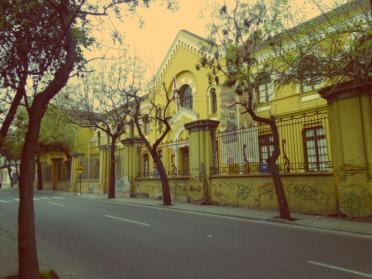 Escuela Normalista, Comuna de Quinta Normal, Santiago de Chile
