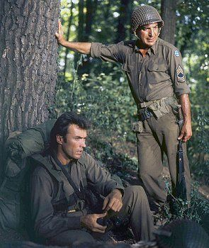 "Clint Eastwood and Telly Savalas, ""Kelly's Heroes"" 1970"