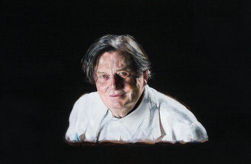2016 Archibald Prize Winner - Louise Hearman Title Barry Medium oil on masonite Dimensions 69.5 x 100 cm