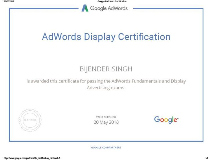 #displaymarketing #digitalmarketing #digital #certified #certification #ppc #adwords #bijenderdigital #sem