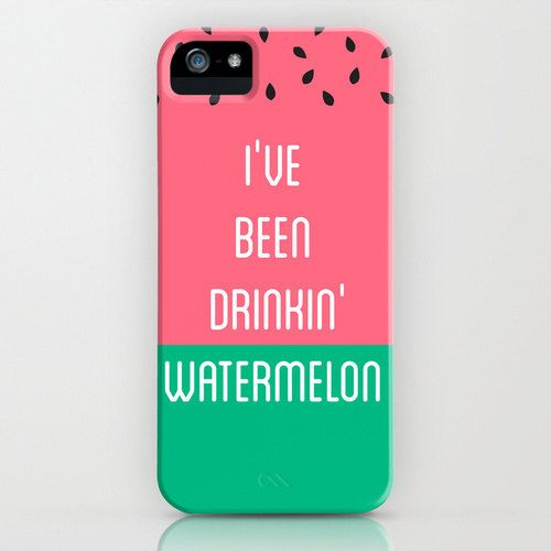 Beyonce I've Been Drinking Watermelon by PencilMeInStationery
