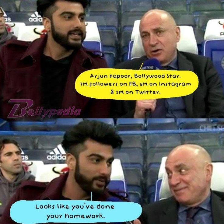 Lol! This Chelsea FC Reporter is unaware of Arjun Kapoor's popularity, watch video!