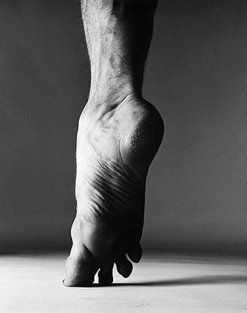 Once upon a time, I could go en pointe...the human body is an amazing thing.