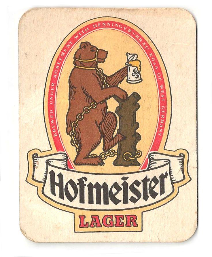 Hofmeister Vintage 70s Beer Mat