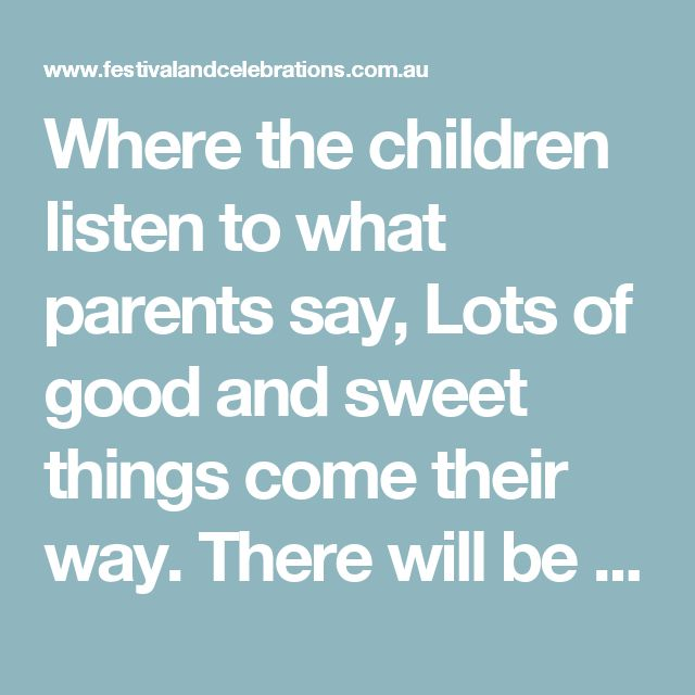 Where the children listen to what parents say, Lots of good and sweet things come their way. There will be surprises for Susan and Ken John, Michael, Emma, Lucy and Ben. Resi Schwarzbauer ©