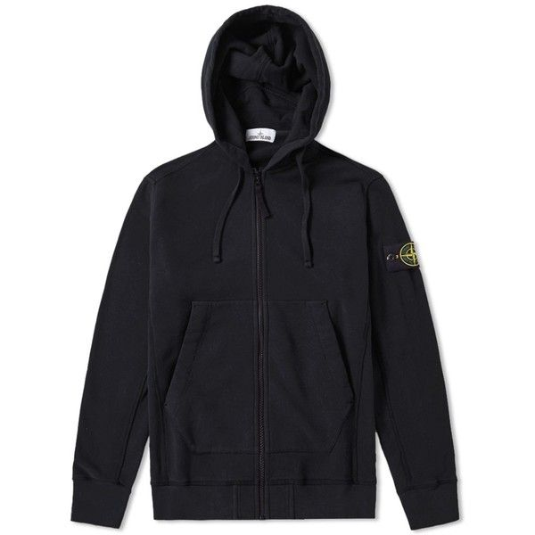 Stone Island Garment Dyed Heavyweight Zip Hoody (29245 RSD) ❤ liked on Polyvore featuring men's fashion, men's clothing, men's hoodies, mens zipper hoodies, mens short sleeve hoodies, mens hoodies, mens zip up hoodies and mens sweatshirts and hoodies