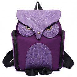 Stylish Owl Shape and Solid Color Design Women's Satchel | TwinkleDeals.com