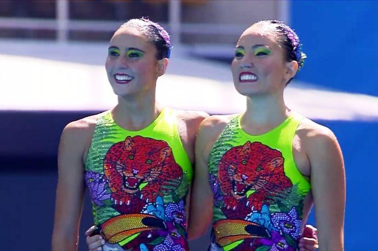 foto Luisa Borges e Maria Eduarda sorrindo