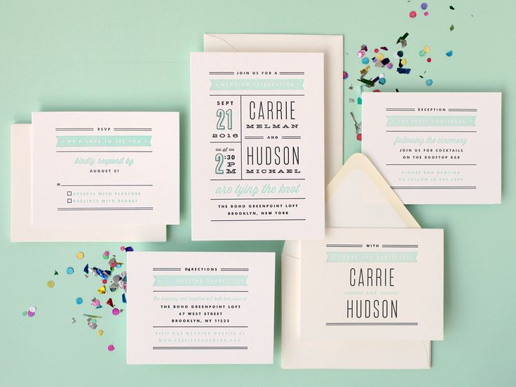 Win From Minted Letterpress Wedding Invitations Cebacanada