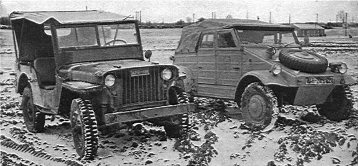 Jeep vs Kubelwagen