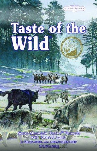Taste of the Wild Sierra Mountain pienso para perros. Pienso para perros. Taste of the Wild Sierra Mountain. Alimento / Comida para perros indicada para perros de todas las razas y tamaños. Ingrediente principal: Cordero. En Petclic ahorras mas de un 35% en todas tus compras de piensos y alimentación para perros Todas las garantías. Toda la seguridad que necesitas y mas de 5.000 productos de alimentación rebajados. www.petclic.es