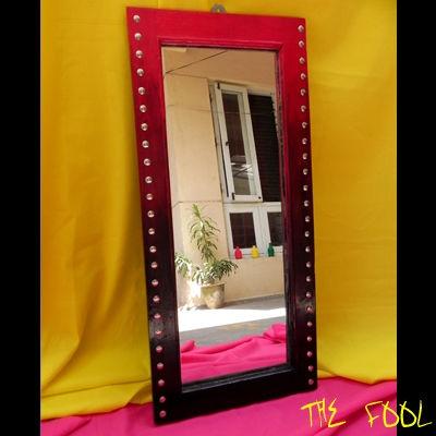 Studded Mirror