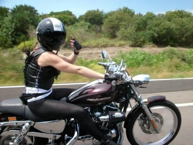 women wearing thongs on bikes