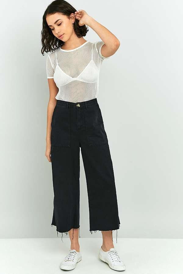 Slide View: 1: BDG - Pantalon jupe-culotte casual