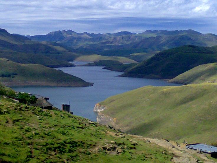 Lesotho, Mohale Dam.