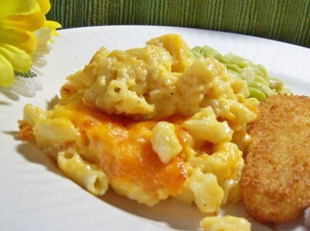 Macaroni and Cheese from Food.com:   This is my MIL recipe she has made it for years. It is delicious.  The elbow macaroni measurement is for 1--16 ounce box dry.  I can't respond to zmail because of a previous issue.