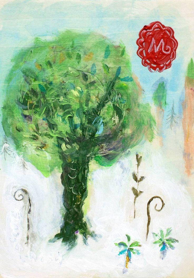 ただ…悲しみと…ありのまま…寄り添えた日…君が…美しい森 その深奥の…木となり眠る時…私は…森の緑吹き抜ける…優しい風になる…鳥や虫や生き物達の…命の歌…甘く…馨しい草花の香り運ぶ…風になる…そっと…ふわり…何度でも…君を抱き…包む風に……love …