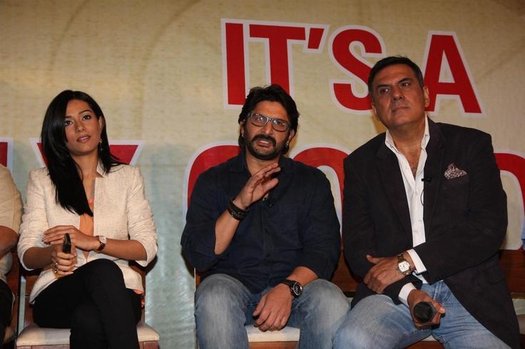 """Amrita Rao and Arshad Warsi at Movie """"JOLLY LLB"""" Success Bash."""