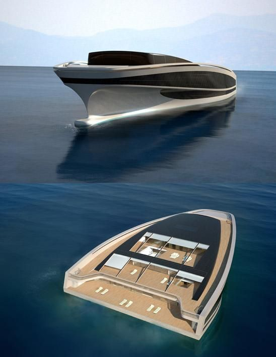 Hermès And Wally Create Super Luxe Boat, Looks Like An Iron