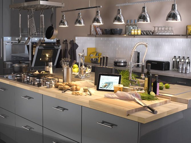 Les Meilleures Idées De La Catégorie Plan De Travail Granit Sur - Meubles pin cevins pour idees de deco de cuisine