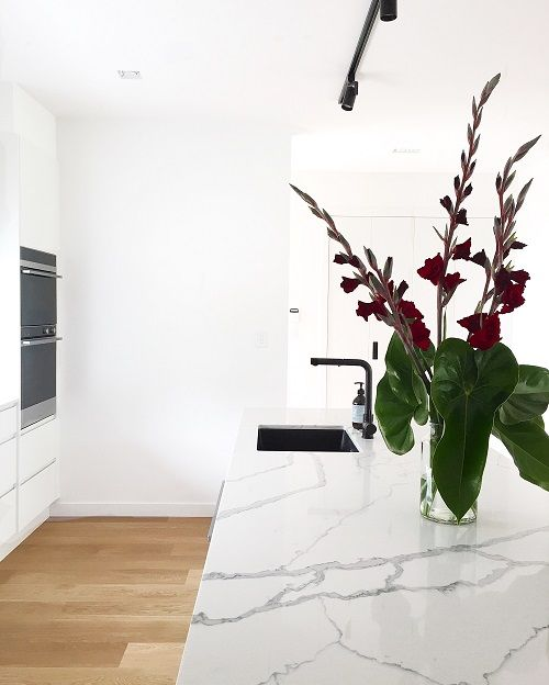 Smartstone Statuario Venato in Kitchen by Ashton Build NZ