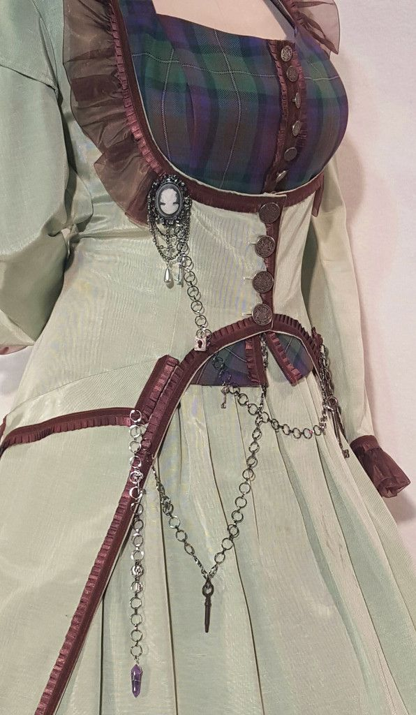 SCROLL TO BOTTOM/LAST PHOTO OF THE PAGE FOR COMPLETE INSTRUCTIONS ON HOW TO MEASURE All most too many details to list... But you could get your LARP on with this ensemble. Let's start at the top with