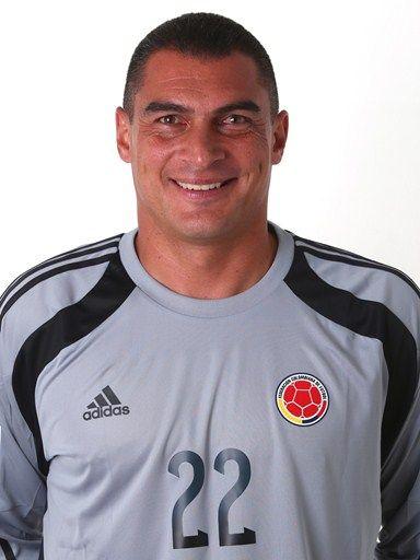 Las fotos oficiales de #Colombia #Fifa #Brasil2014 - Faryd Mondragon