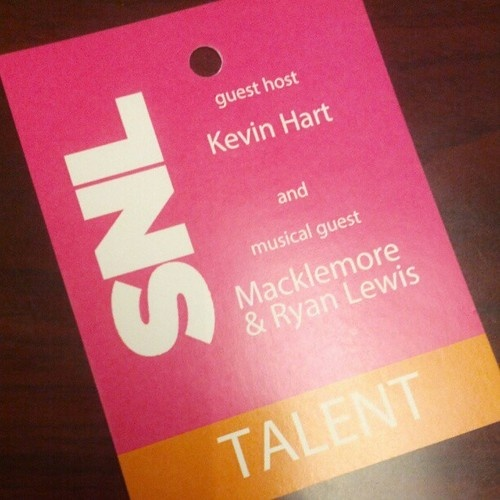 Saturday Night Live: Tonight! Kevin Hart and musical guest Macklemore & Ryan Lewis! #SNL