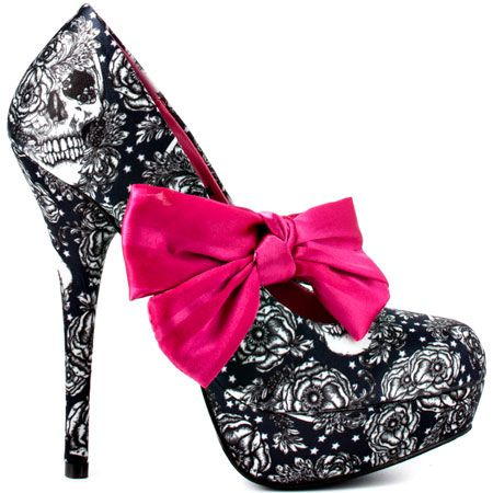 Iron Fist Shoes Pink Bow!