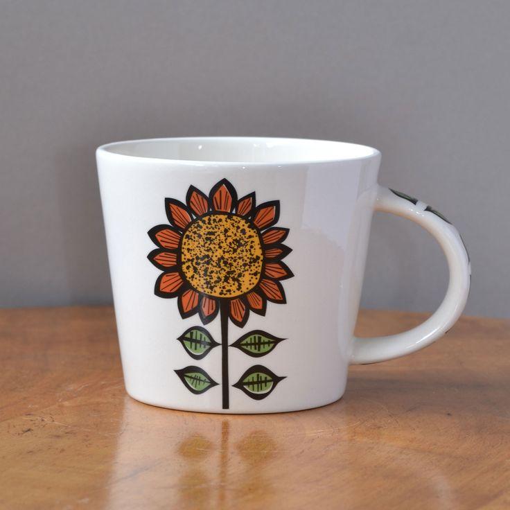 The new Sunflower Mug by Hannah Turner #hannahturner #sunflowers