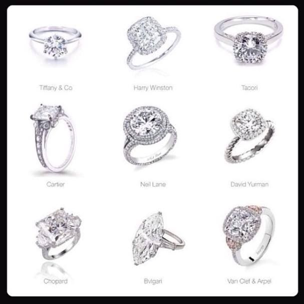 Harry winston oval engagement rings