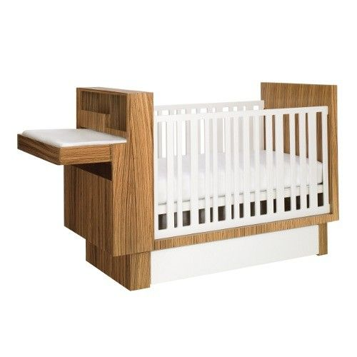 Studio Crib with Changing Table + Storage