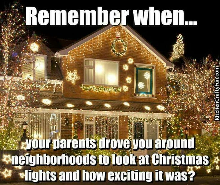 Yep..and the lights on The Plaza in K.C.K.