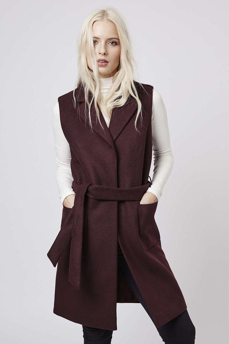 Photo 3 of Sleeveless Belted Coat