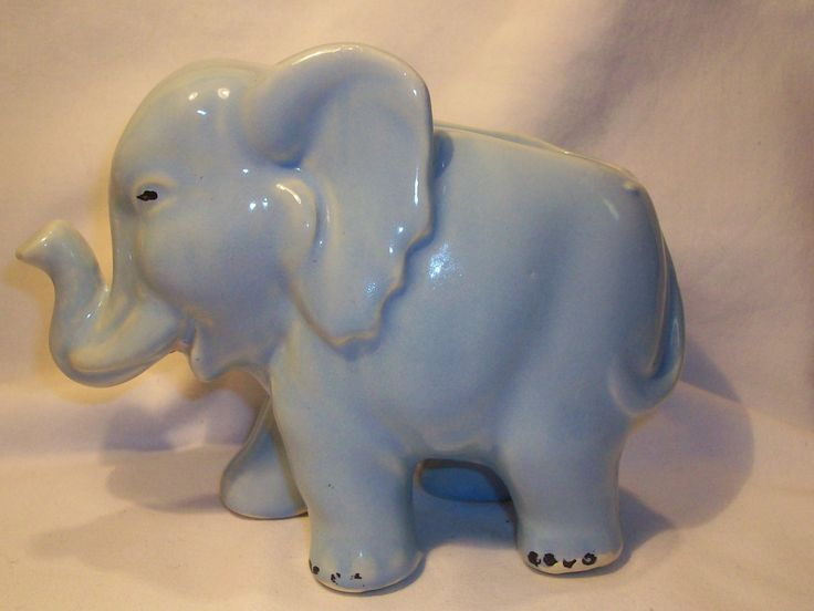 Shawnee Pottery Elephant Planter Vintage Pottery From