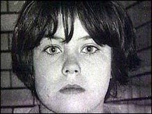 Mary Flora Bell (born 26 May 1957 in Newcastle upon Tyne, England) was convicted in December 1968 of the manslaughter of two boys, Martin Brown (aged four years) and Brian Howe (aged three years). Bell was ten years old when she killed Brown, and eleven when she killed Howe