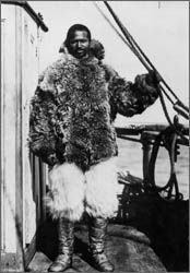 """Matthew Henson - """"Peary knew Matt Henson's real worth [he] was of more real value to our Commander than Bartlett, Marvin, Borup, Goodsell and myself all put together. Matthew Henson went to the Pole with Peary because he was a better man than any one of us."""" This was an opinion shared by the Inuit, who respected Henson for his immersion in their culture. Of Peary's crew, only Henson was fluent in Inuktitut, and could drive a sledge with native prowess."""
