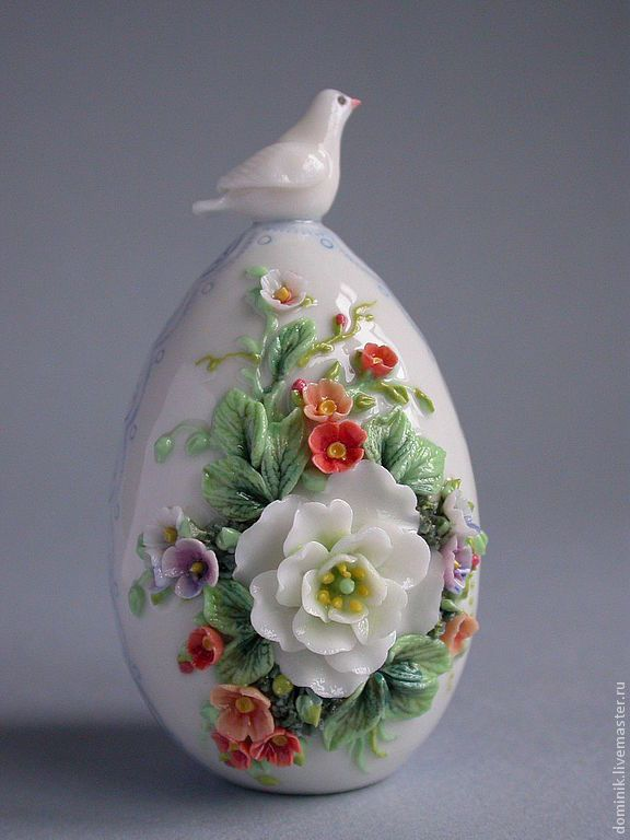 Купить Пасхальное яйцо с голубем - пасхальное яйцо, Пасха, пасхальный сувенир…