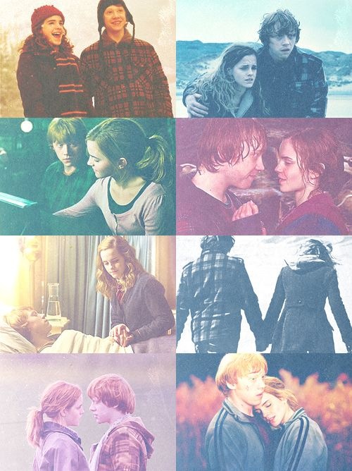 I want a love like Ron and Hermione's. <3