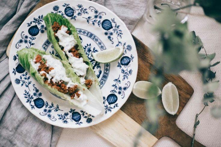 Salaatti tacot // julia toivola