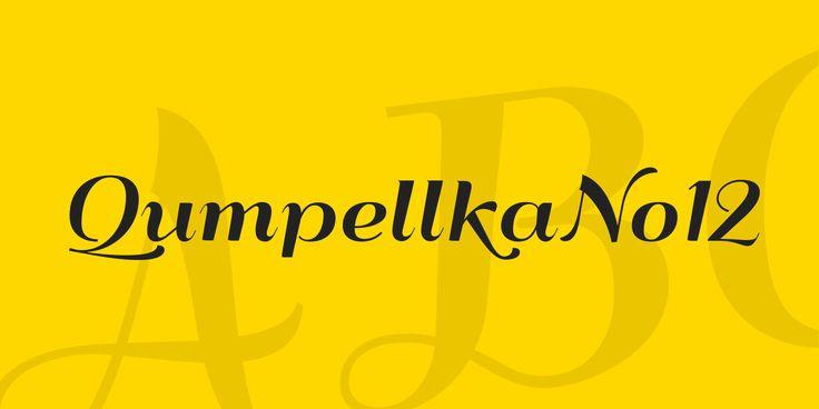 QumpellkaNo12 Font · 1001 Fonts