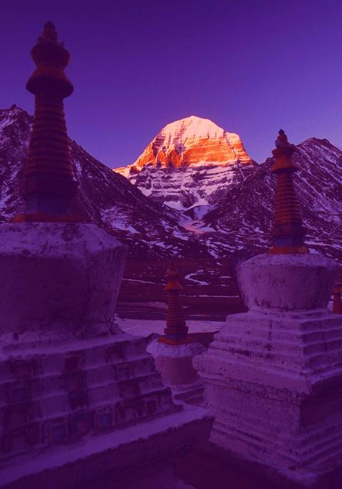 Somewhere in Tibet perhaps.