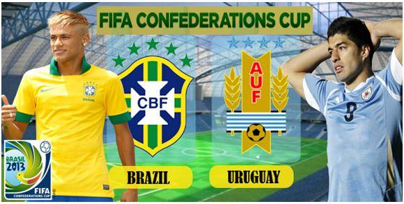 Prediksi Hasil Semi Final Piala Konfederasi Brasil 2013 : Brasil Vs Uruguay | FATAMORGANA