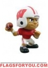 "Wisconsin Badgers Lil' Teammates Series 1 QB 2 3/4"" tall"