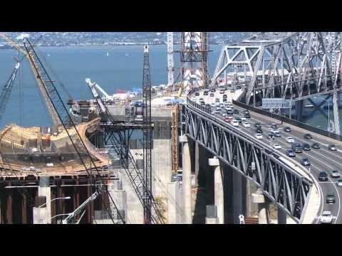 Witness more than 42,000 hours of construction in just 4 minutes with this official time-lapse movie of the San Francisco-Oakland Bay Bridge