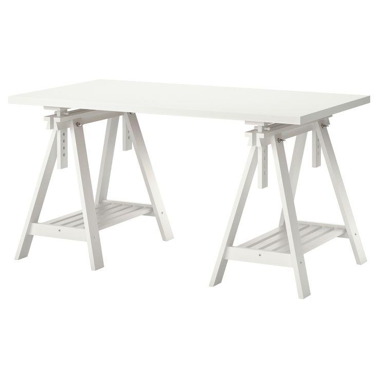 LINNMON/FINNVARD Table - white - IKEA