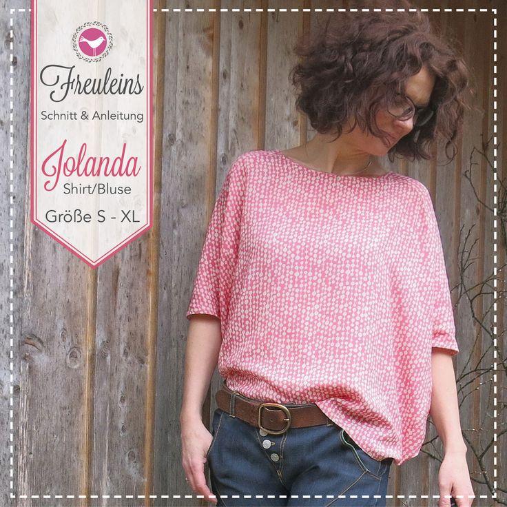 Schnittmuster Shirt Jolanda – Es geht los